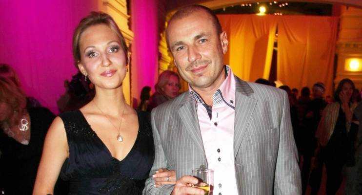 Наталья Михайлова с мужем