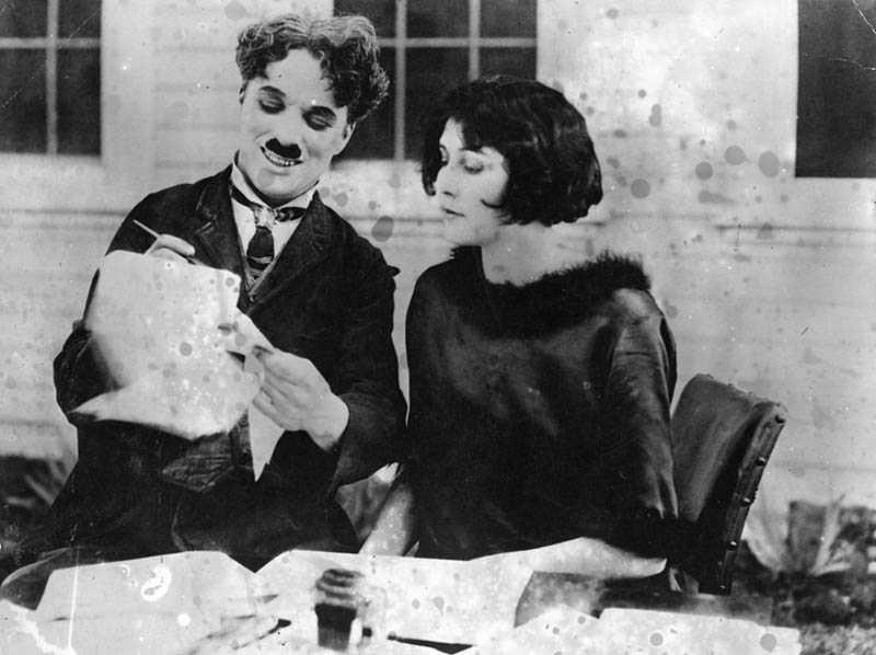 Лита Грей и чаплин