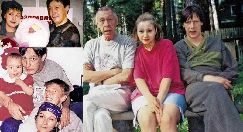 Родители Анны-Марии дочери Ефремова