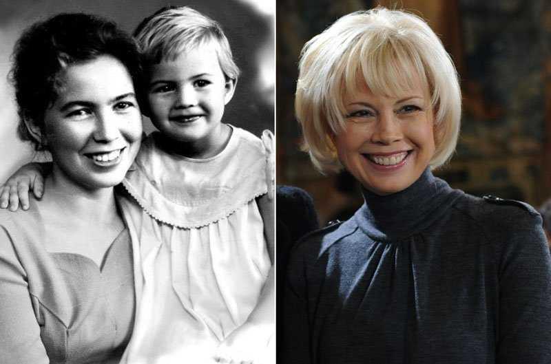детство Ирина Горбачева