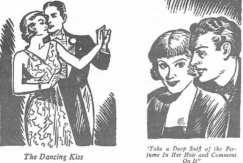 В 1911 году тоже была выпущена брошюрка для поцелуев