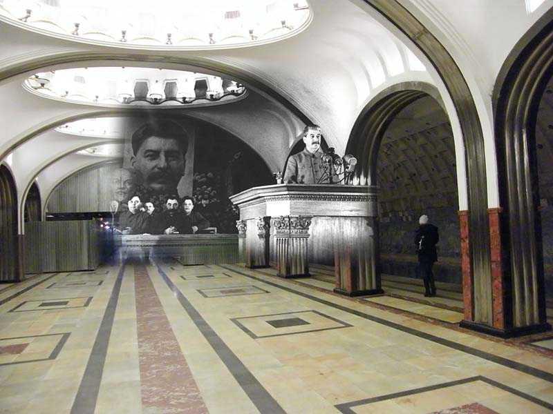 Почему одна из станций сталинского метро считалась провальной