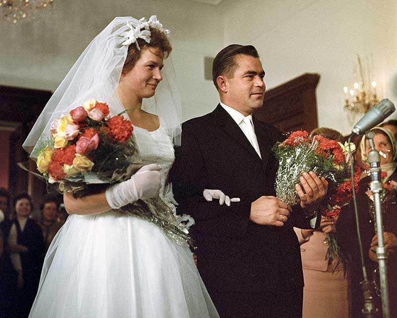 «Космический» брак Терешкова и Николаев