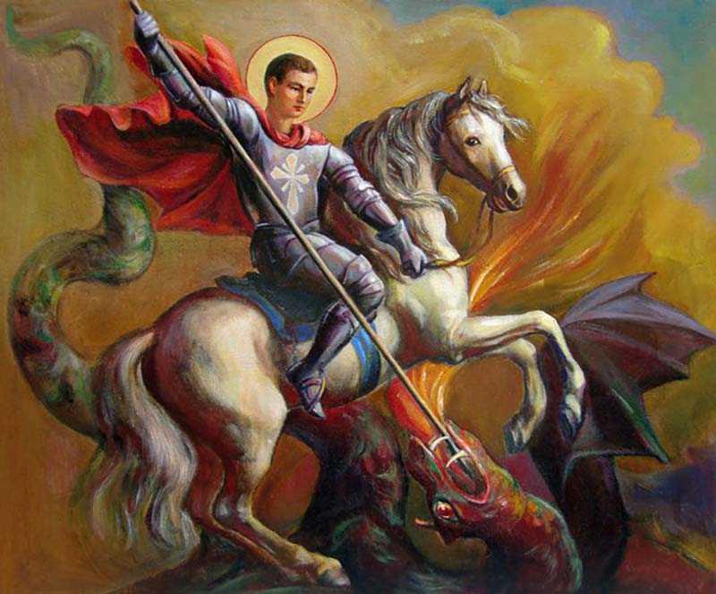 6 мая — Великомученика Георгия Победоносца