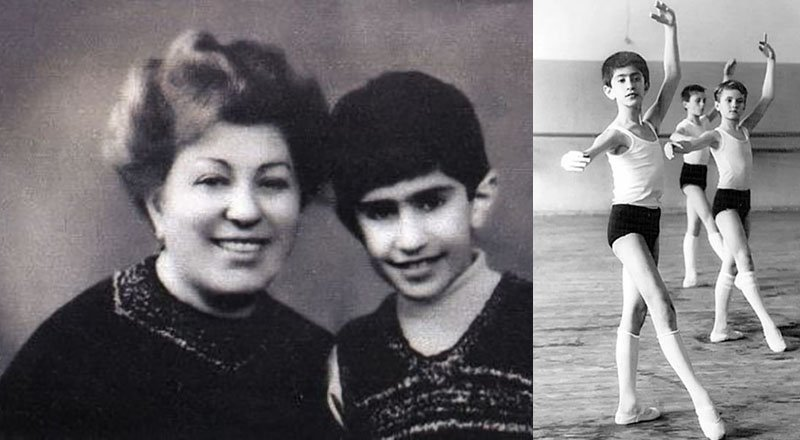 Тяга Николая к балету и танцам проявилась еще в детстве. Причем, именно мама — Ламара Николаевна, способствовала появлению такого увлечения.