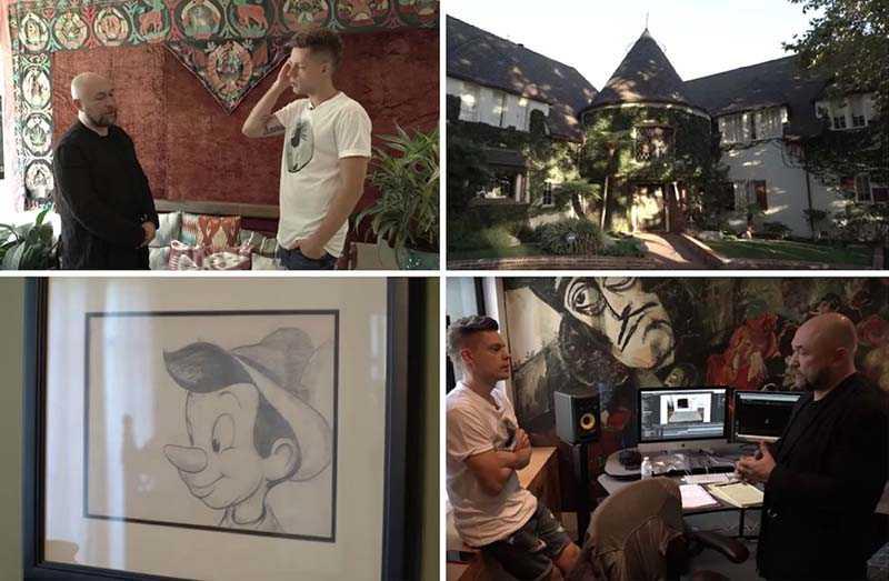 «Дом творчества» — такую характеристику дает Тимур своему американскому имению