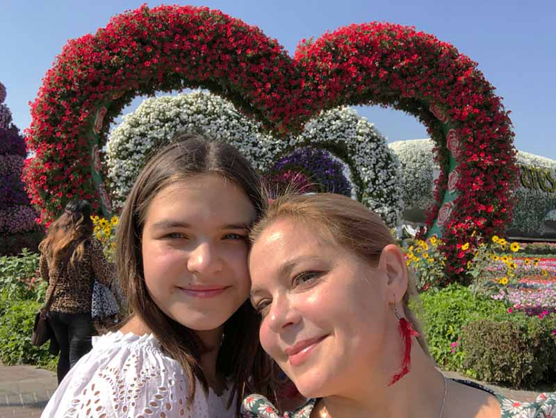 Семейная фотосессия ПЕговой и дочери