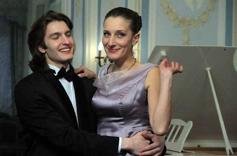 Мариэтта была замужем за актером Дмитрием Сердюком