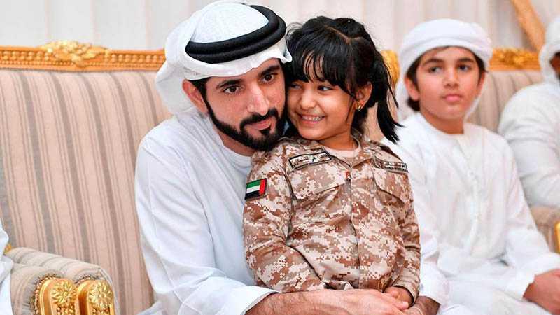 Арабский принц Хамдан женился на двоюродной сестре