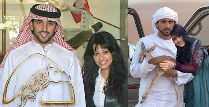 Хамдан и на данный момент не показывает свою жену публике