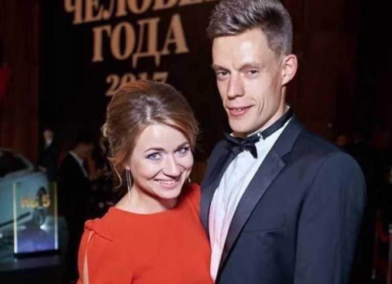 Юрий Дудь и Ольга Бонева