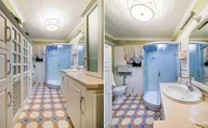 Ванная комната в доме Вовк