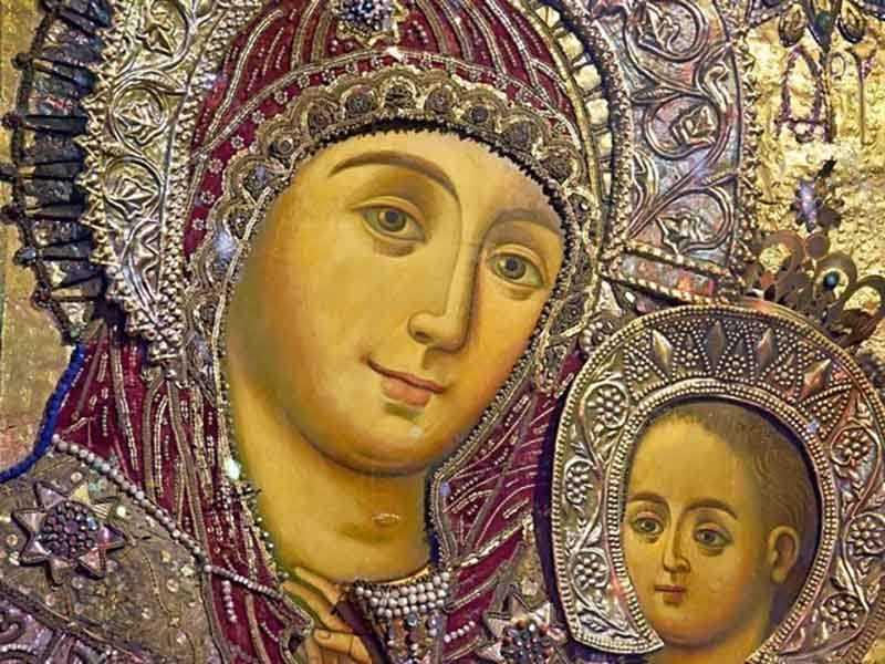 Где можно увидеть икону с улыбающейся Богородицей
