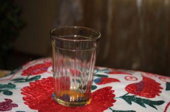История возникновения граненого стакана