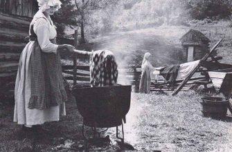 Способы изготовления и применения щелока в старину
