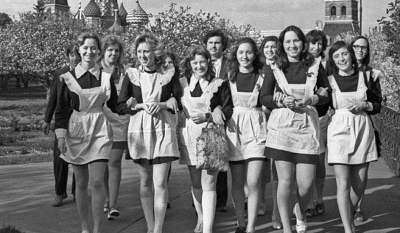 Короткие юбки  В СССР