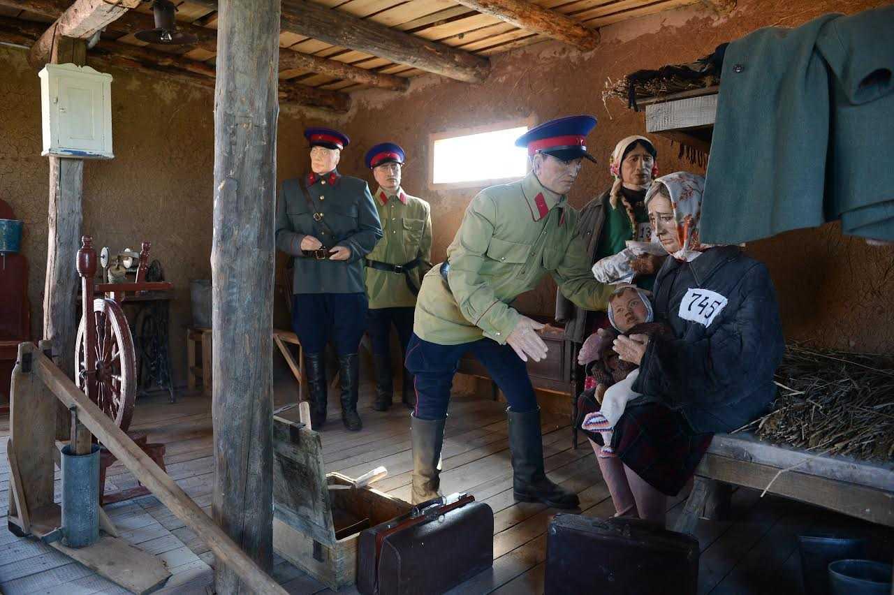 Акмолинский лагерь жен изменников Родины
