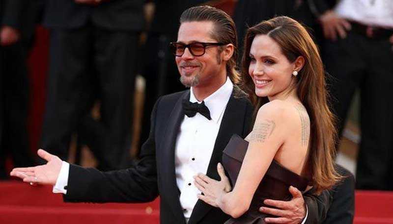 Питт и Джоли вместе отпраздновали день рождение дочери