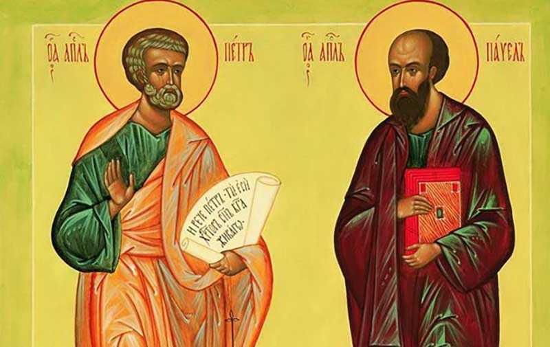 12 июля — День Петра и Павла