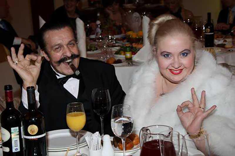 У Токарева было три брака.