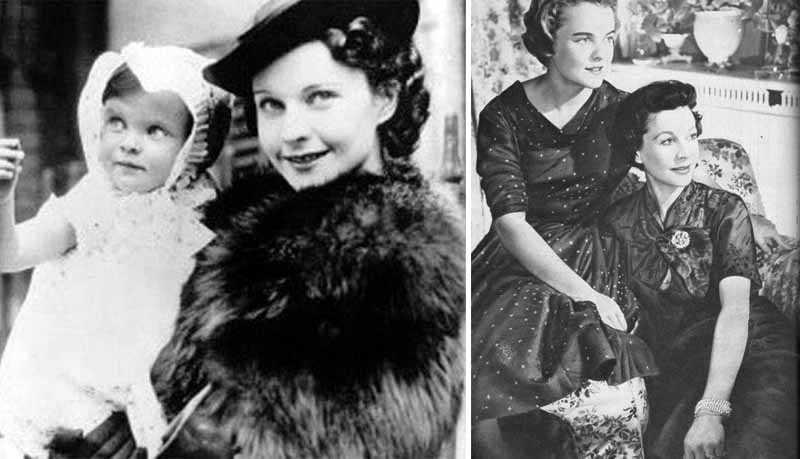 Дочь появилась на свет осенью 1933 года. На тот момент Вивьен не было даже и 20 лет