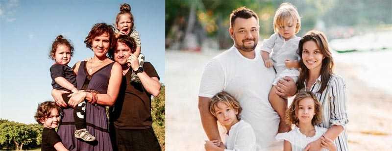 Елена Добындо тоже вышла замуж в США и является матерью уже пятерых детей.