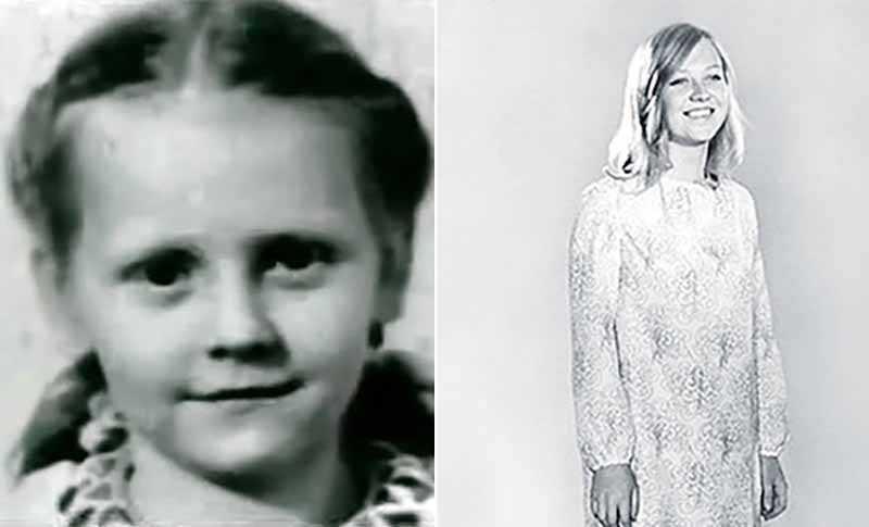 Детство Крючковой