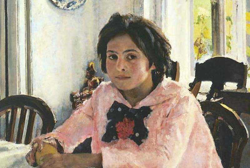 Судьба Веры Мамонтовой, с которой писалась картина «Девочки с персиками»