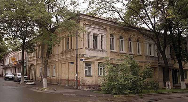 Дом актеров театра Вахтангова