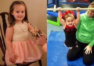 Девочка из Америки родилась без ног, но стала гимнасткой