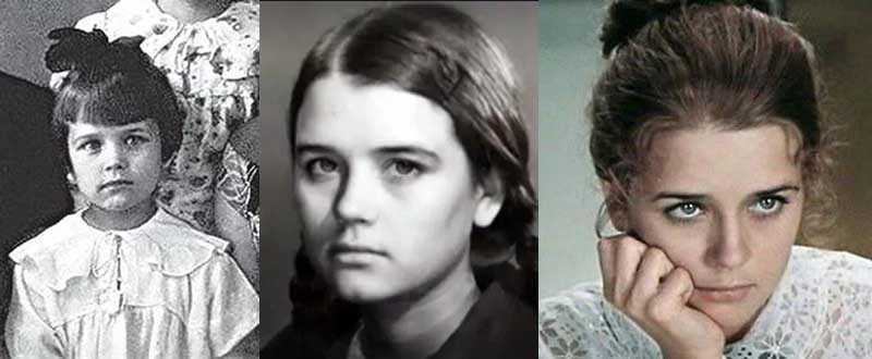 Детство юной красавицы Алферовой