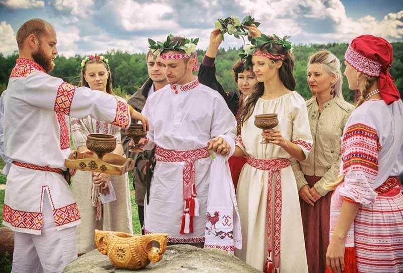 Невеста с водкой