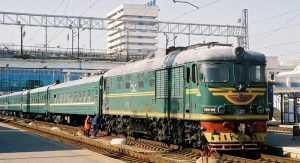 Почему советские поезда были зелеными?