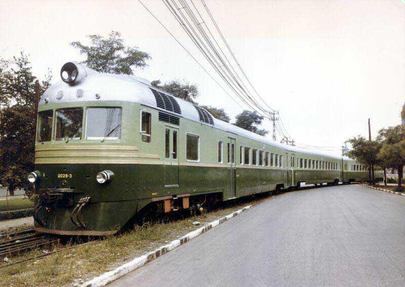 Зеленые вагоны для маскировки во время ВОВ