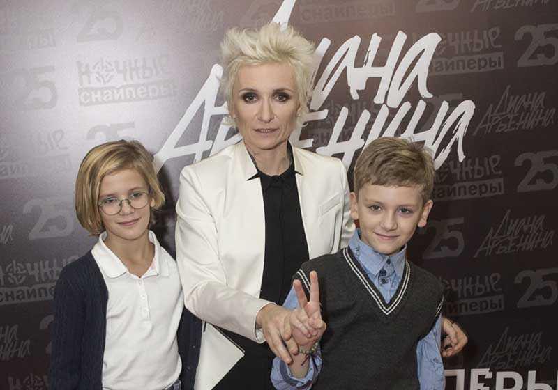 Как живут и чем занимаются 10-летние двойняшки Дианы Арбениной