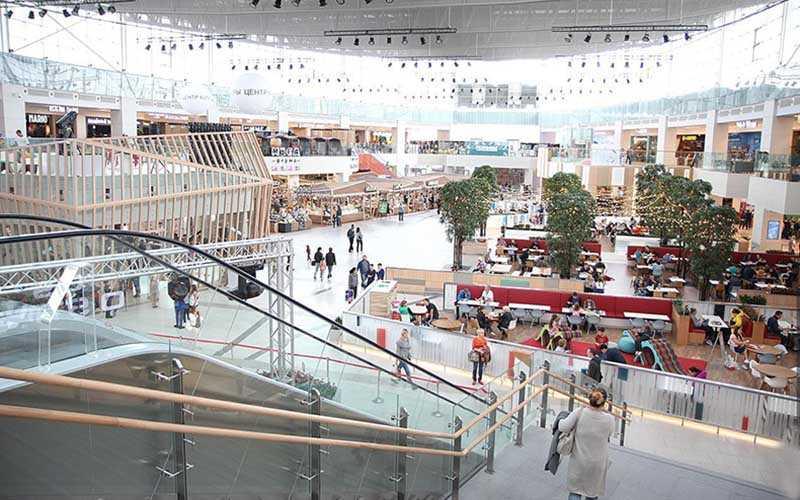 Идея, благодаря которой появились торговые центры