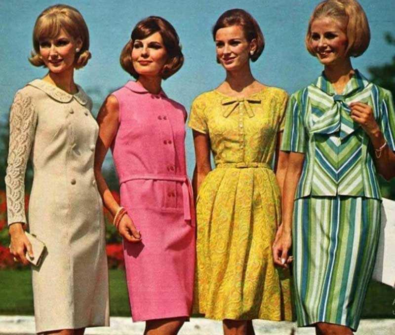 Со второй половины 50-х годов мода в Советском Союзе шла в одном курсе с западными тенденциями, хоть и не так быстро менялась.