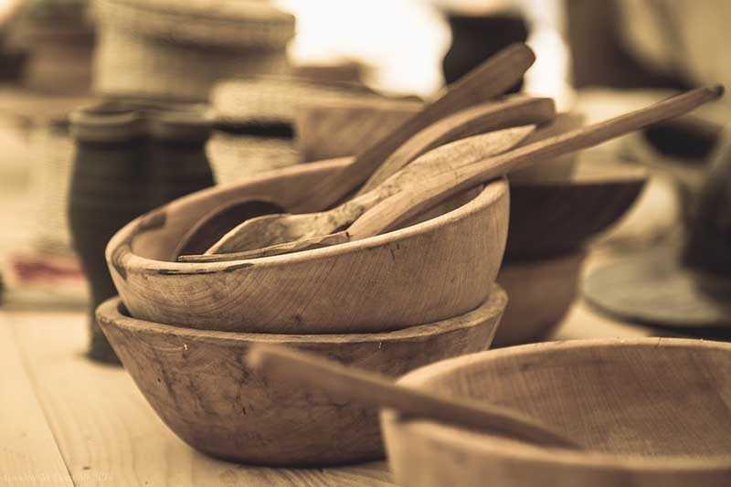 Кошельки, посуда и другие емкости