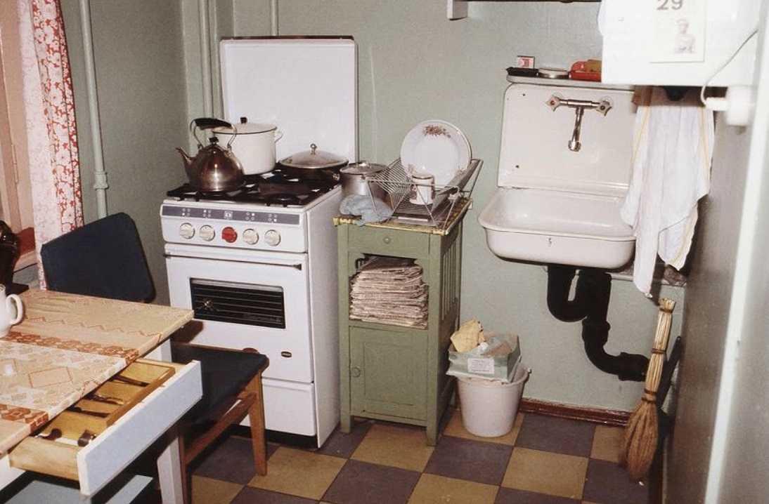 маленькая кухня ссср