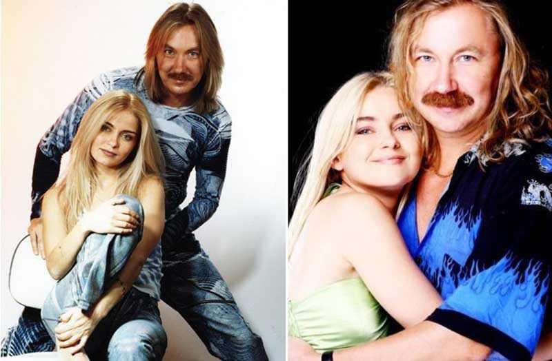 в 10-летнем возрасте Юля уже снималась в клипе Примадонны, а в 18 лет — в клипе своего отца.