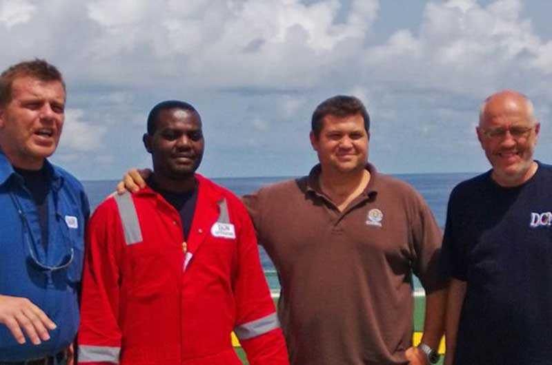 Харрисон Оджегба Окене был коком на буксирном судне и после трагедии стал единственным из 12 человек, кому удалось спастись.