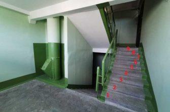 По какой причине в домах СССР делали именно 9 ступенек между лестничными пролетами