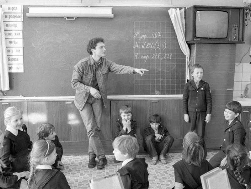 Престижная профессия учителя