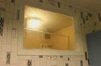 С какой целью в Советском Союзе ставили окно между ванной и кухней