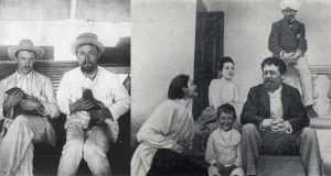 Антон Павлович долгое время терпел выходки диких животных в своем доме.