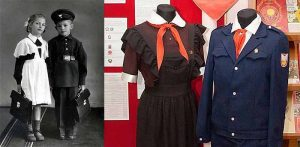 Эволюция школьного наряда в Советском Союзе