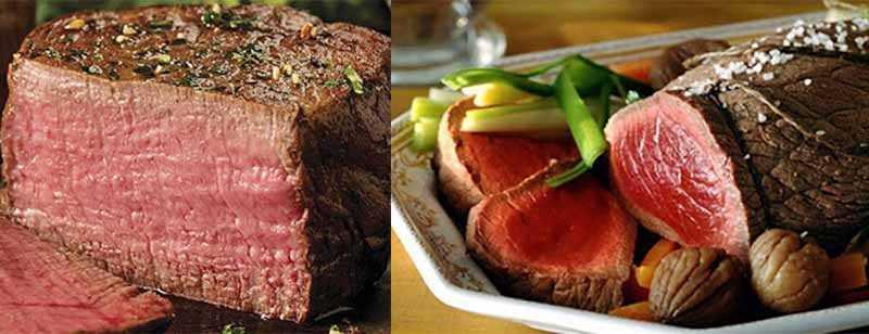 Мясо бобра имеет насыщенный красный цвет, что объясняется тем, что в нем большое количество железа.