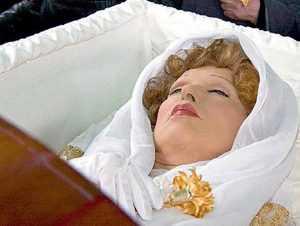 Похороны Гурченко не по-христиански
