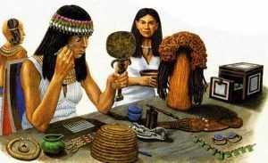 Что заменяло тушь в древние времена?