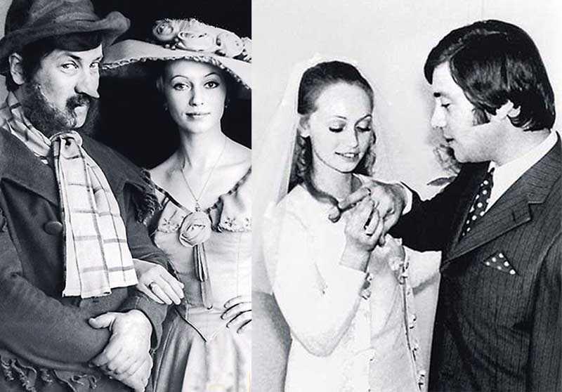 Владимир Винокур и Тамара Первакова познакомились в театре.